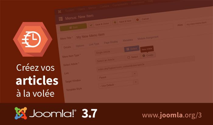 Joomla 3.7 improved workflow