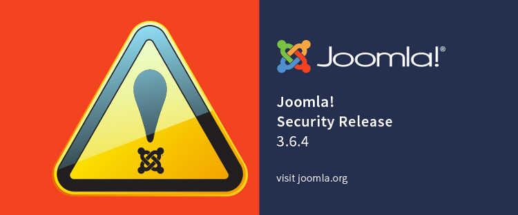 joomla 3 6 4 annonce security
